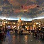Adjacent shops and restaurants