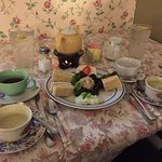 The Tea Sandwiches and soup