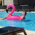 Son in law relaxing....as you do!