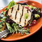 Grilled Haloumi Salad