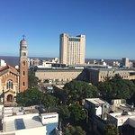 Vista desde el cuarto hacia el Sur - Shopping Punta Carretas e iglesia