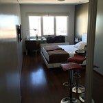 habitación simple orientación Sur lateral piso alto
