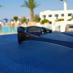 Arty sunglasses shot on Sunbed!