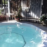Relax in our hot tub after a day of hiking