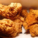 Brother's Fried Chicken closeup.