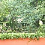 Ausblick zum Dorotheenstätischen Friedhof