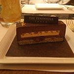 Dessert from the Peninsula Boutique & Café