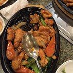 Spicy Stir Fried Chicken with Vegetables