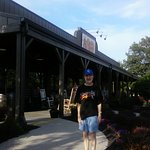 In front of Cracker Barrel