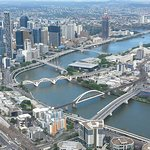 The Brisbane River Foto