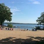 Spirit Lake beach