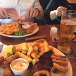 Surf and turf with a refreshing pint of cider