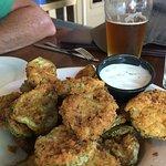 Crunchy Fried Pickle Slices