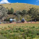 We had hundreds of acres all to ourself in their great campsites which are spread quite away apa