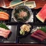 Absolutely wonderful Luncheon Sashimi Special at Oishii Sushi Bar
