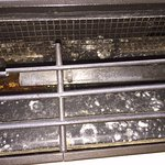 Mold Spores in the Air Conditioner. Wet and molded carpet also.
