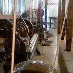 Restored machine shop area