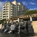 Hale Kona Tower (in middle of resort): has reception desk and hotel shops