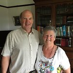 Tom and Ailsa McQueen, Avondale B&B, Cookstown, County Tyrone, Northern Ireland.