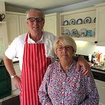 Gordon and Diane Whyte, Edenvale House B&B, Newtownards, County Down, Northern Ireland