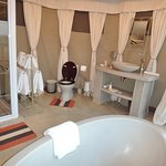 Tastefully-built, meticulously-maintained Bathroom in a Tent !
