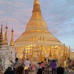 Shwedagon-Pagode Foto