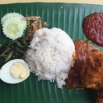 Local Nyonya stalls...authentic food & friendly.