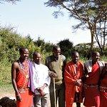 Ol Kinyei camp staff