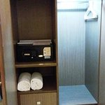 cupboard with locker