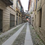 A narrow street in Orta