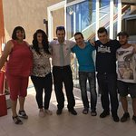 The wonderful staff at Samos Bay Hotel