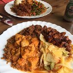 comida tradicional, trato familiar, muy recomendado!!!