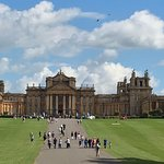 Front view of Blenheim palace