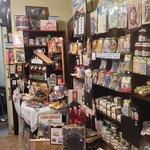 Adjacent old fashioned sweet shop