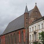 Готическое здание монастыря-музея