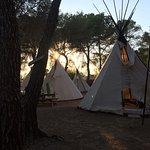 Foto de Camping Es Cana