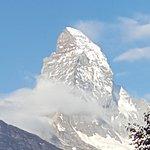 Matterhorn from balcony of room 212