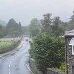 Looking from our room towards Glenridding