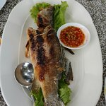 Grilled white snapper