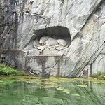 Löwendenkmal Foto