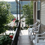 View building A's porch