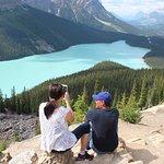 Breathtaking view of Peyto Lake