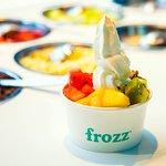 Frozz frozen yoghurt Schiphol