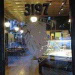 Front door. Enter here for great gelato, pastries, coffee.