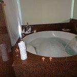 bañera de la suit