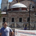 In 0-60 seconds you are at the famous Hagia Sophia Museum. It is really just a block away.