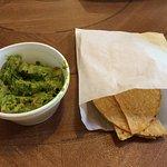 Quacamole & Chips (taco shells???)