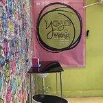 Yogi mania interior, nice clean and friendly ice cream parlour