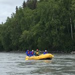 We had an awesome day yesterday kayaking & rafting with Simon & Murph.   Lots of local knowledge