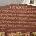 Historical sign about inn!